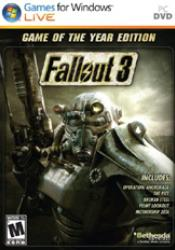 Game cover Fallout 3 Game of the Year Edition GOTY