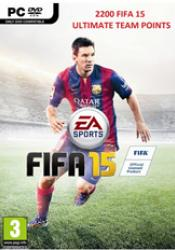 Game cover FIFA 15 Ultimate Team 2200 Points