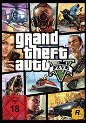 Game cover GTA 5 Grand Theft Auto V