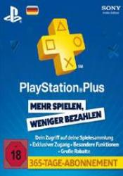 Game cover Playstation Plus Live Card 365 Tage (1 Jahr)