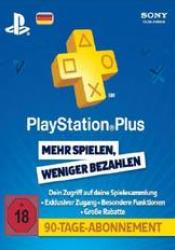 Game cover Playstation Plus Live Card 90 Tage (3 Monate)