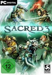 Game cover Sacred 3
