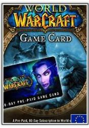 Game cover World of Warcraft 60 Tage Prepaid Gametime