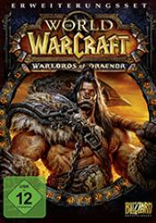 Game cover World of Warcraft Warlords of Draenor